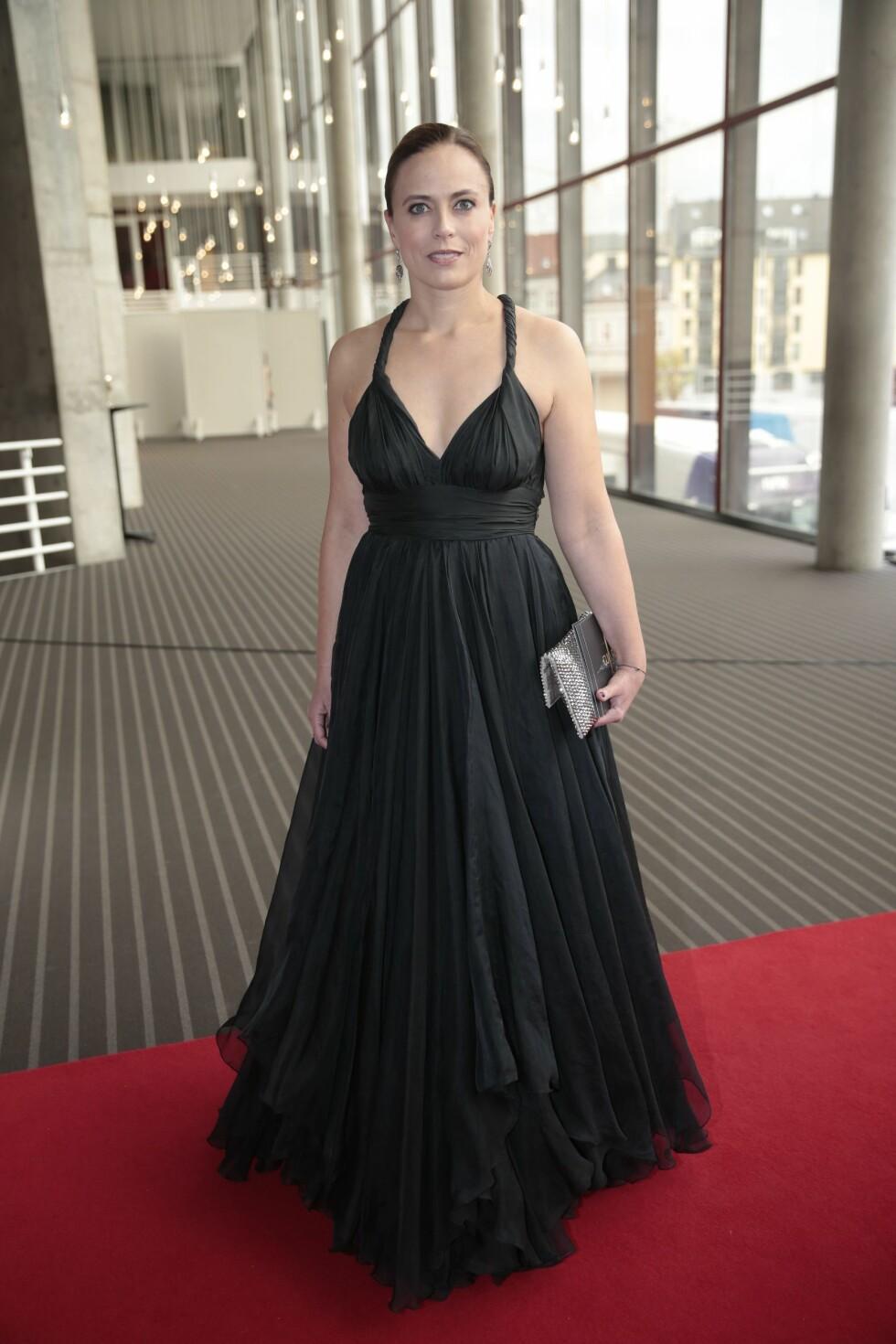 <strong>GULLRUTEN 2016:</strong> Ine Jansen i kjole fra Undorn. Foto: NTB scanpix