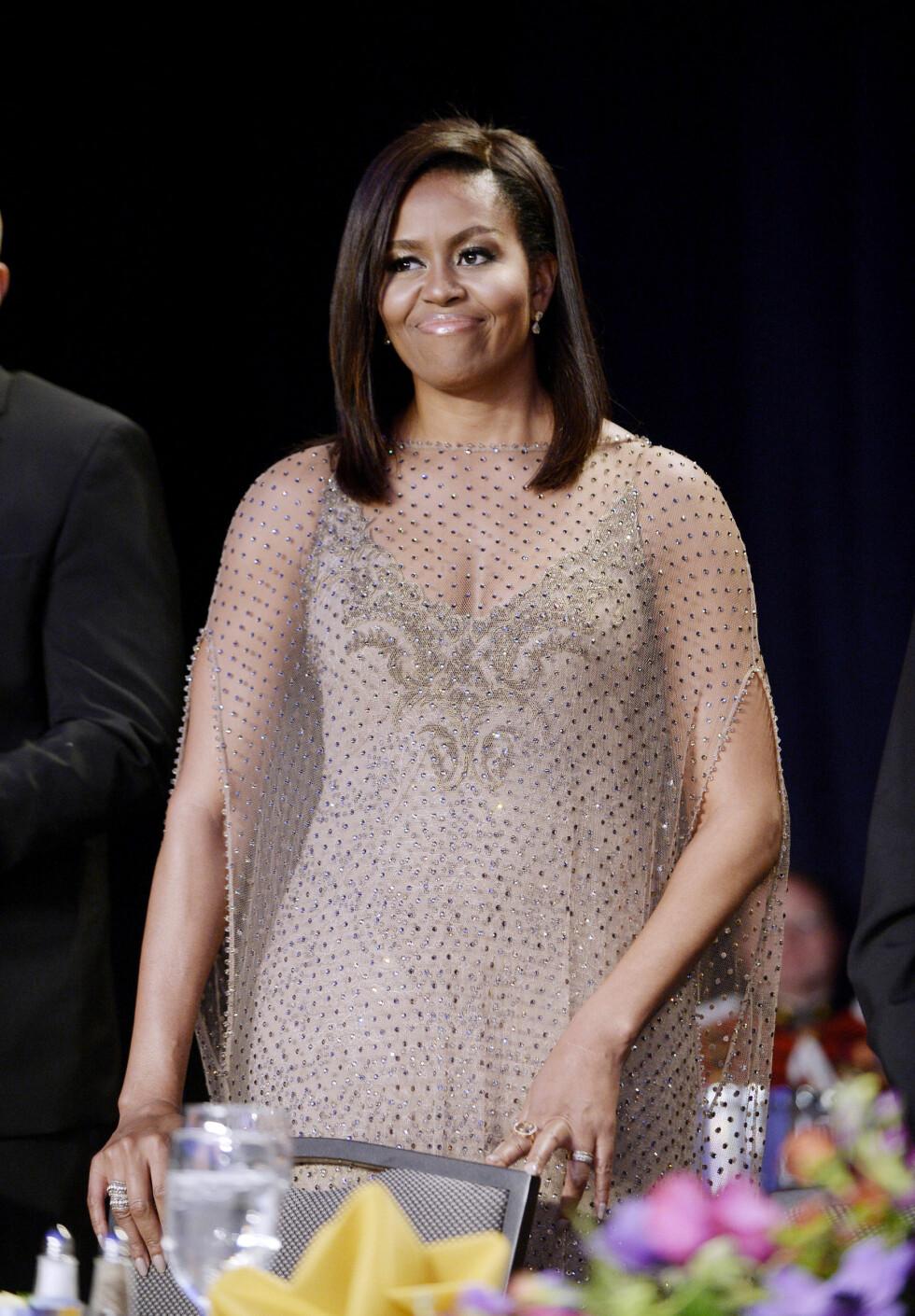DET HVITE HUS: Michelle Obama. Foto: DPA