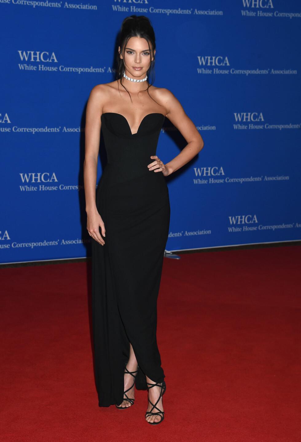 DET HVITE HUS: Kendall Jenner. Foto: Pa Photos