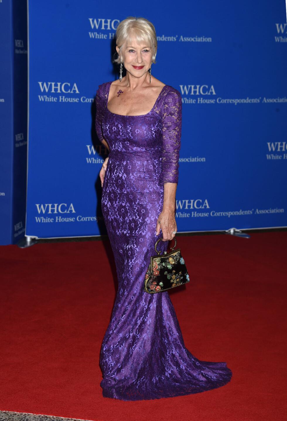 DET HVITE HUS: Helen Mirren. Foto: Pa Photos