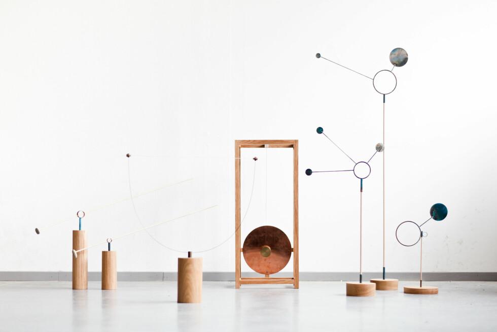 """TRE OG METALL: Skulpturserien """"Weathered"""". Foto: Kneip"""