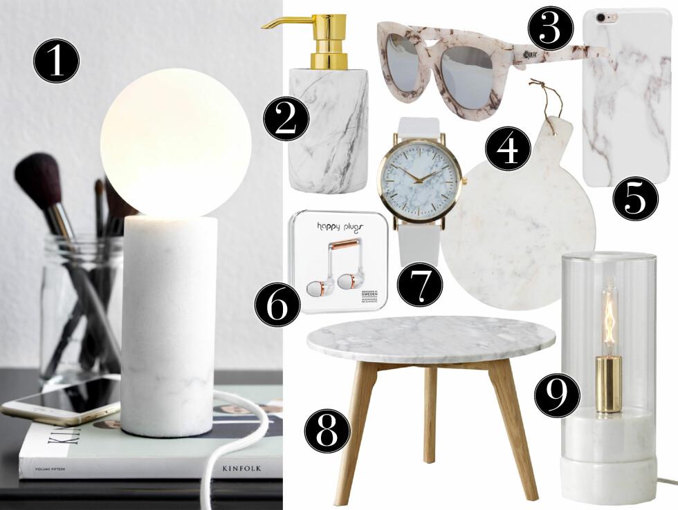 Vi elsker marmor! 9 perfekte gavetips til den som har alt
