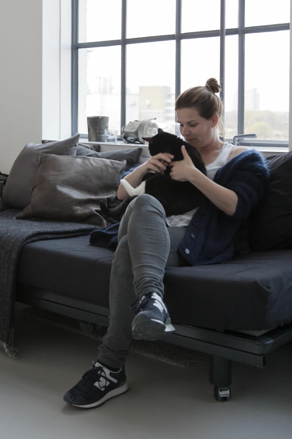 INTERIØRSTYLIST: Renee Arns jobber som stylist i Nederland og har innredet flere industriloft for kunder.  Foto: Raul Candales Franch/IDECORimages.com