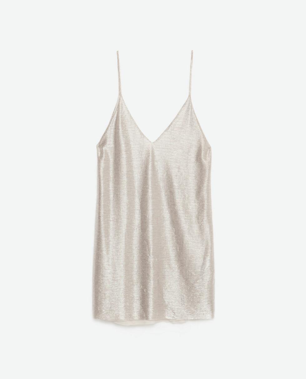 Kjole fra Zara, kr 299. Foto: Produsenten