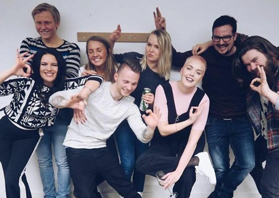 JEG MOT MEG: Malin er én av dem som har delt sine psykiske utfordringer i NRK-programmet «Jeg mot meg». Foto: Instagram