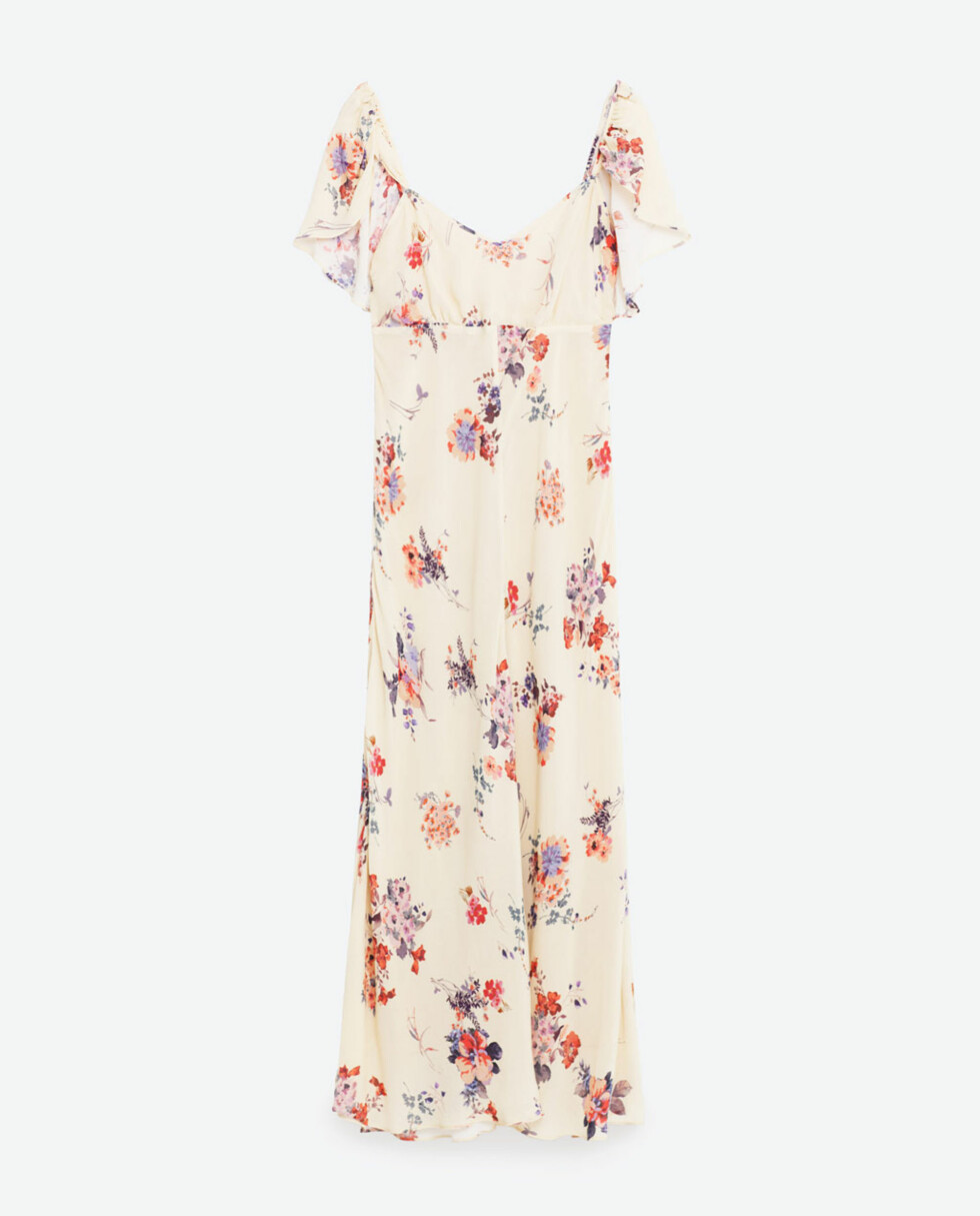 Kjole fra Zara, kr 999. Foto: Produsenten