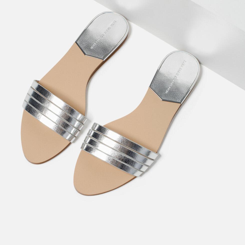 Sandaler fra Zara, kr 259. Foto: Produsenten