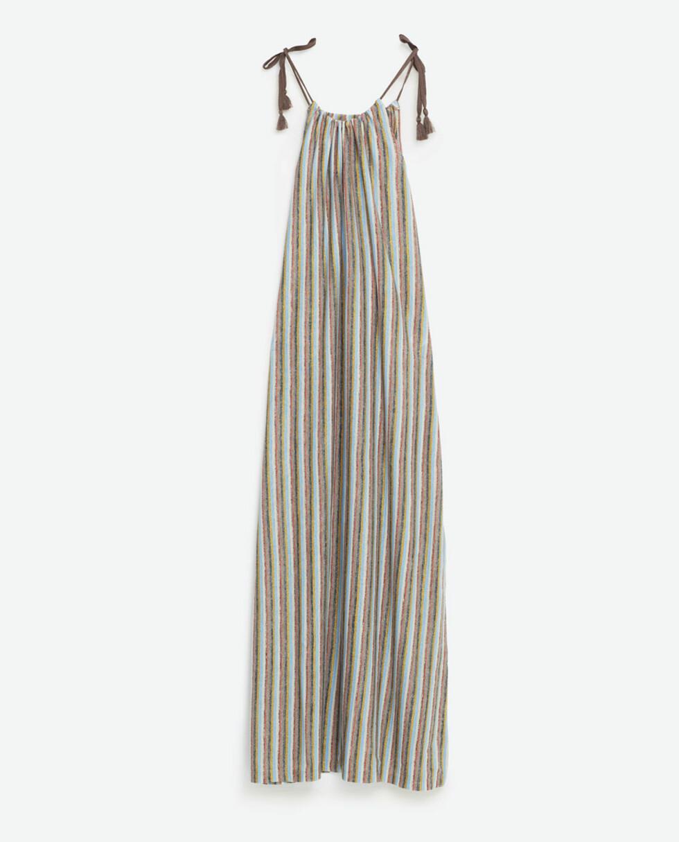 Sommerkjole fra Zara, kr 299. Foto: Produsenten