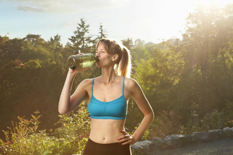 HYDRERT: Ja, du har hørt det før, men drikker du nok vann?