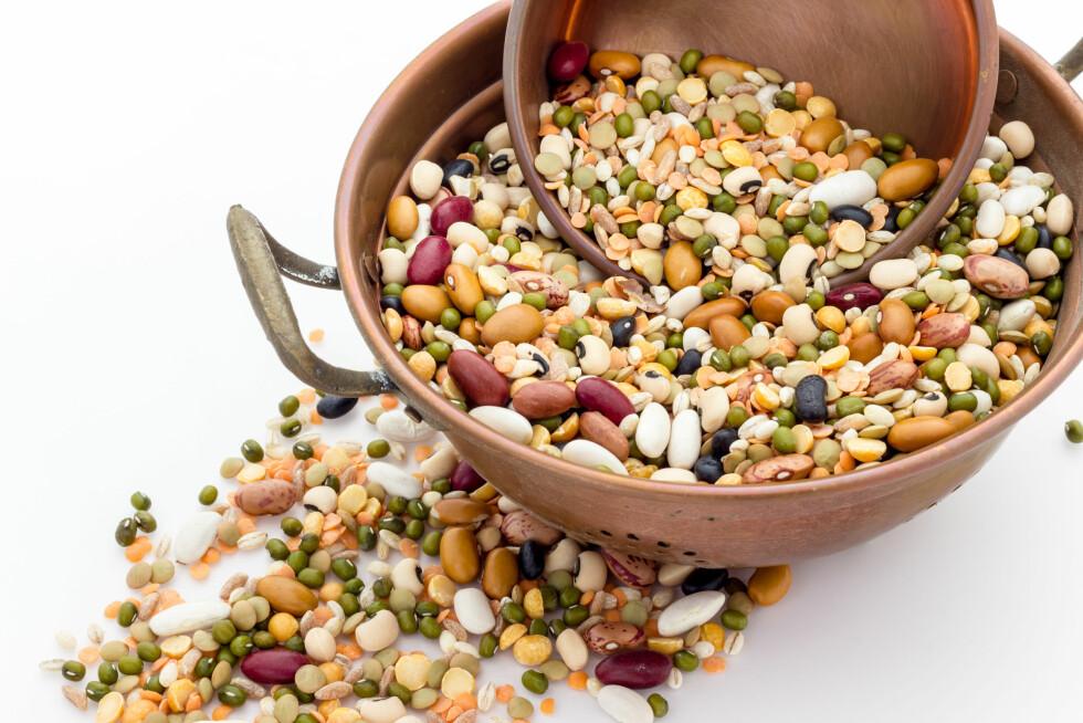 NÆRINGSRIK RÅVARE: Belgvekster er proppfull av sunne næringsstoffer. Foto: Shutterstock / FPWing