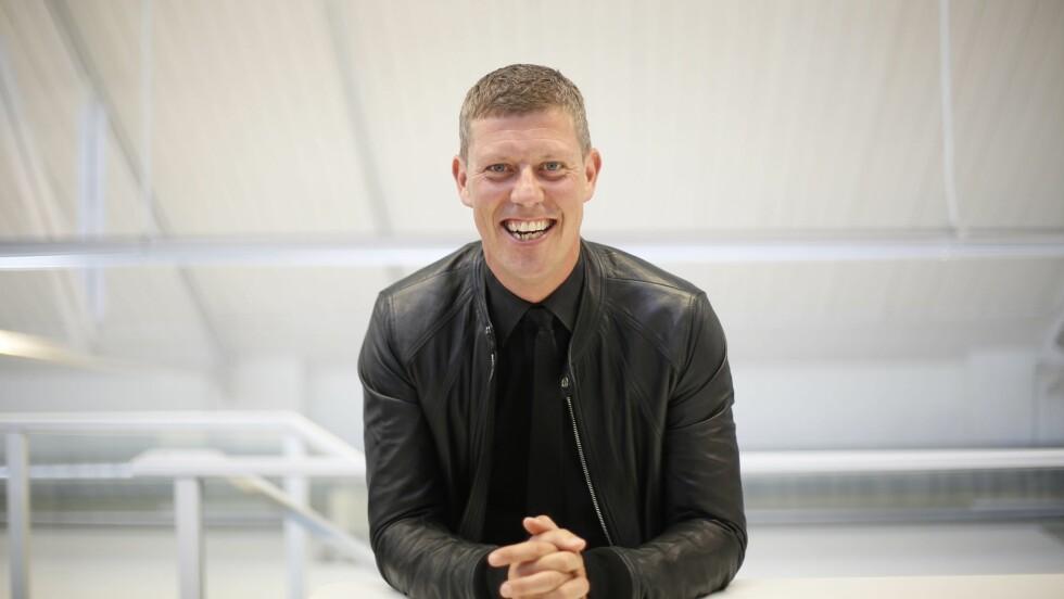 <strong>JAN FREDRIK KARLSEN:</strong> Under KK-dagen holdt Jan Fredrik Karlsen (42) et motiverende foredrag om hvordan han har nådd målene sine.  Foto: Aftenposten