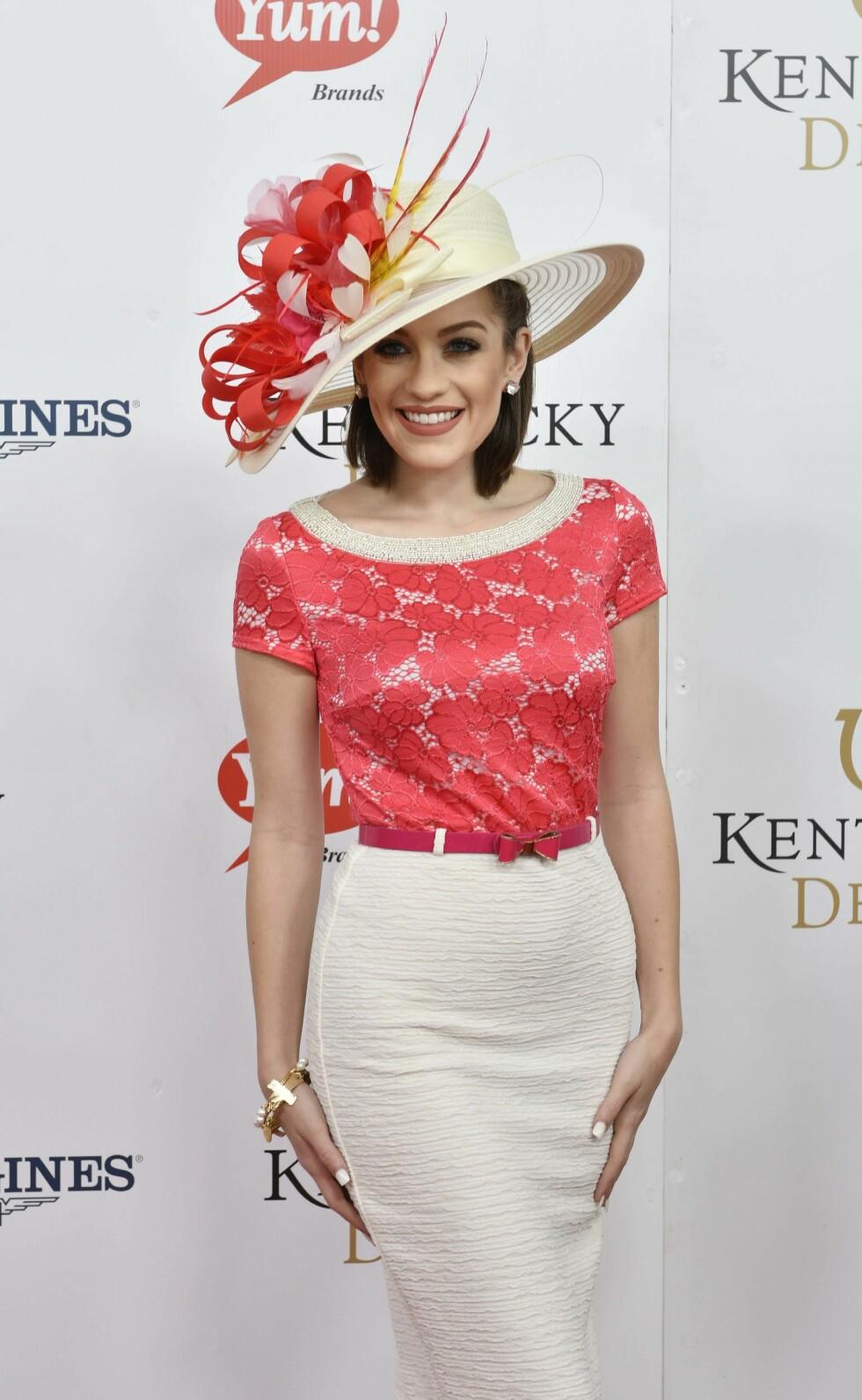 KENTUCKY DERBY: Miss America-vinner Betty Cantrell. Foto: SipaUSA