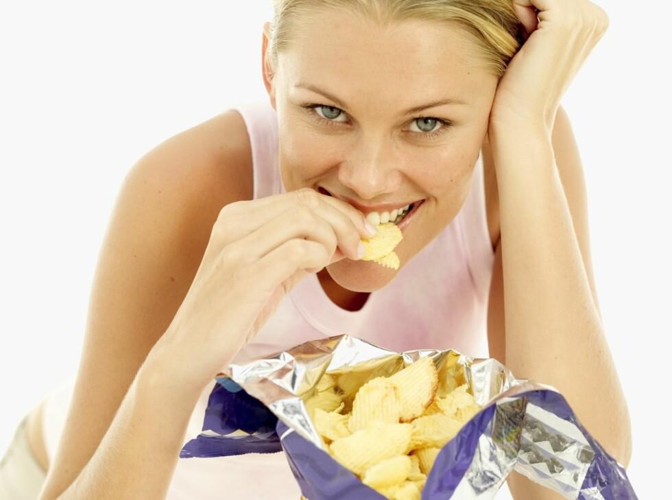 SALT: Ved Addisonssykdom taper man mye salt gjennom urinen, og man kan oppleve en økt lyst etter salt mat. Foto: Thinkstock