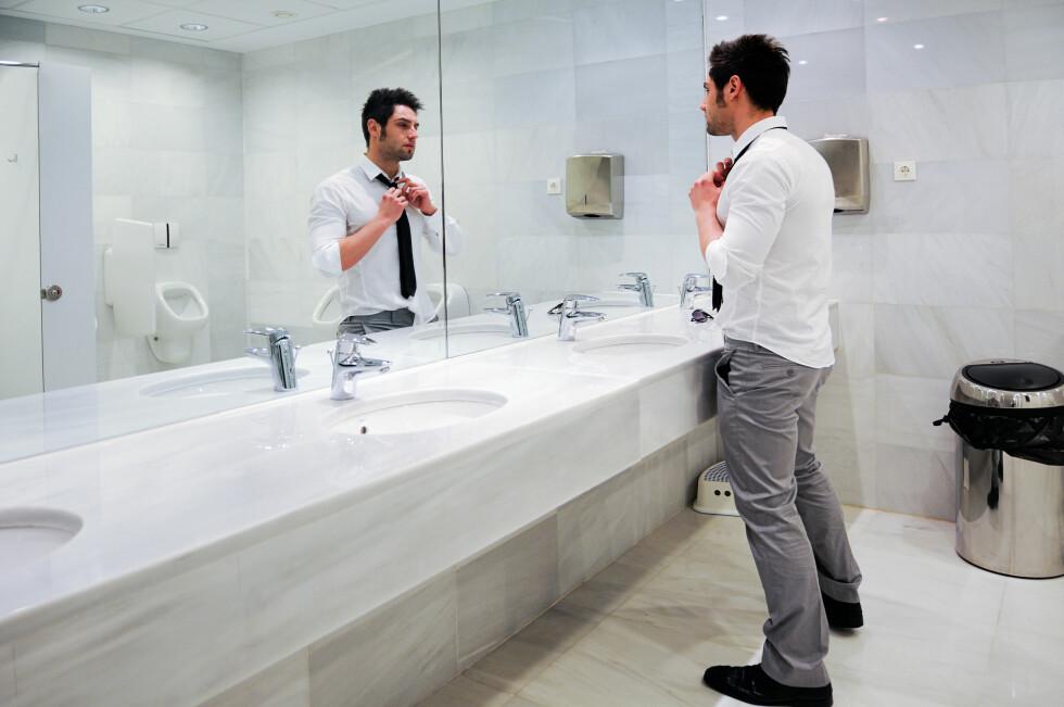 SLURV? En norsk studie fra 2014 kan tyde på at menn er bittelitt dårligere med håndvasken enn kvinner er, men selv ikke kvinnene var flinke nok. Foto: Shutterstock / javi_indy