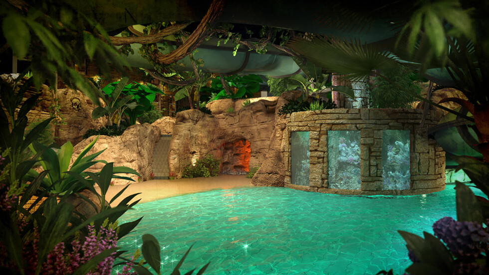 DANMARK: Begynn ferien på det tropiske badelandet The Reef Hotel & Resort i Frederikshavn. Her er det garantert godt vær!