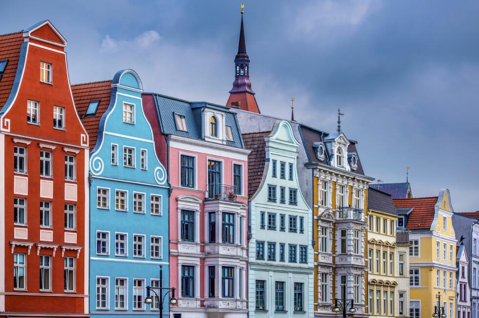 TYSKLAND: Vakre Rostock har en sjarmerende gamleby, og alt fra zoologisk hage til nydelige strender. Ta Stena Line fra Trelleborg til Rostock!
