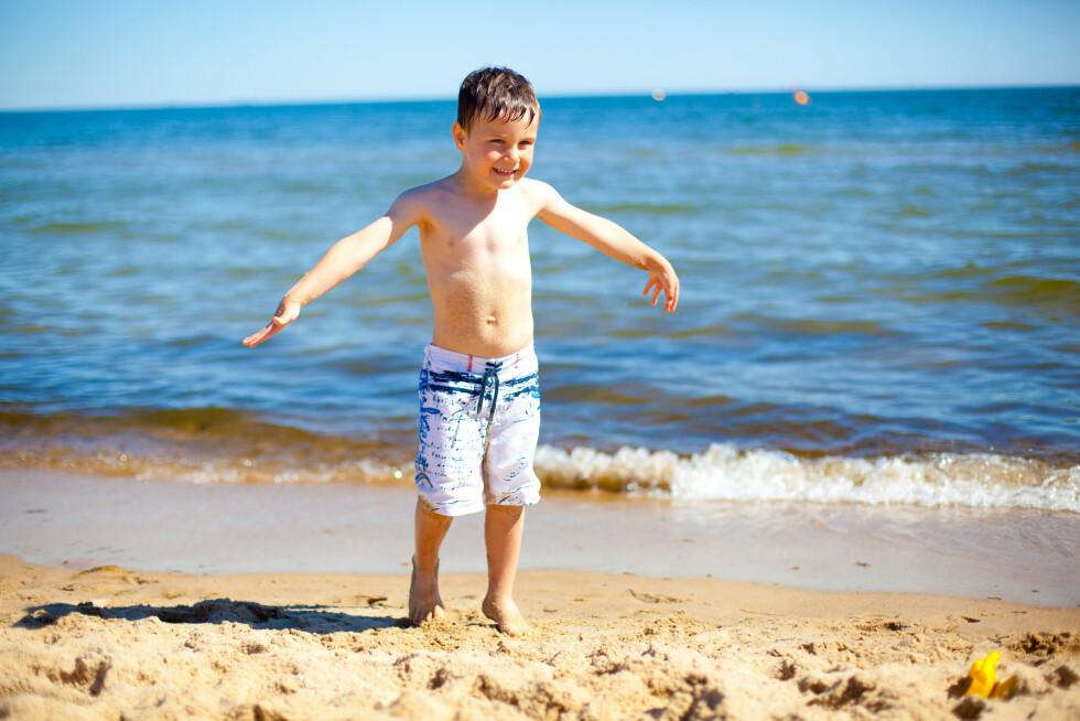 POLEN: Den polske rivieraen innbyr til late dager med lek og moro på stranden.