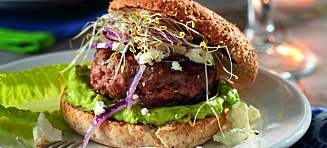 #Familiesøndag: Hamburgere med avokado