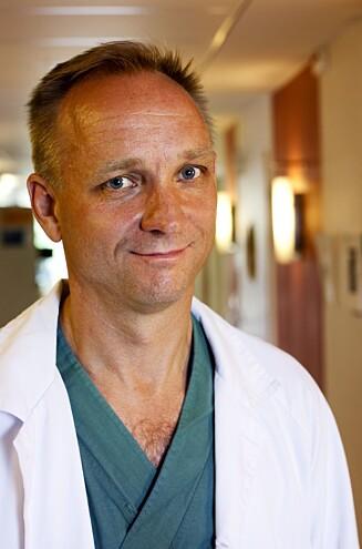 GIR KVINNER UTEN LIVMOR HÅP: Mats Brännström har ledet forskningsprosjektet hvor ni svenske kvinner har fått transplantert organet. Foto: Universitetet i Gøteborg