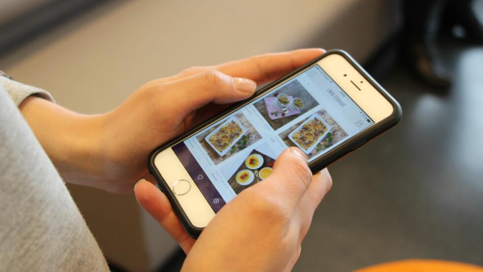 MATBLOGGERNE TRENINGSEKSPERTENE FØLGER: Linda Marie Stuhaug er blant matbloggerne flere treningseksperter følger.  Foto: KK