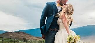 Hylles som et av de mest majestetiske brudebildene som er tatt