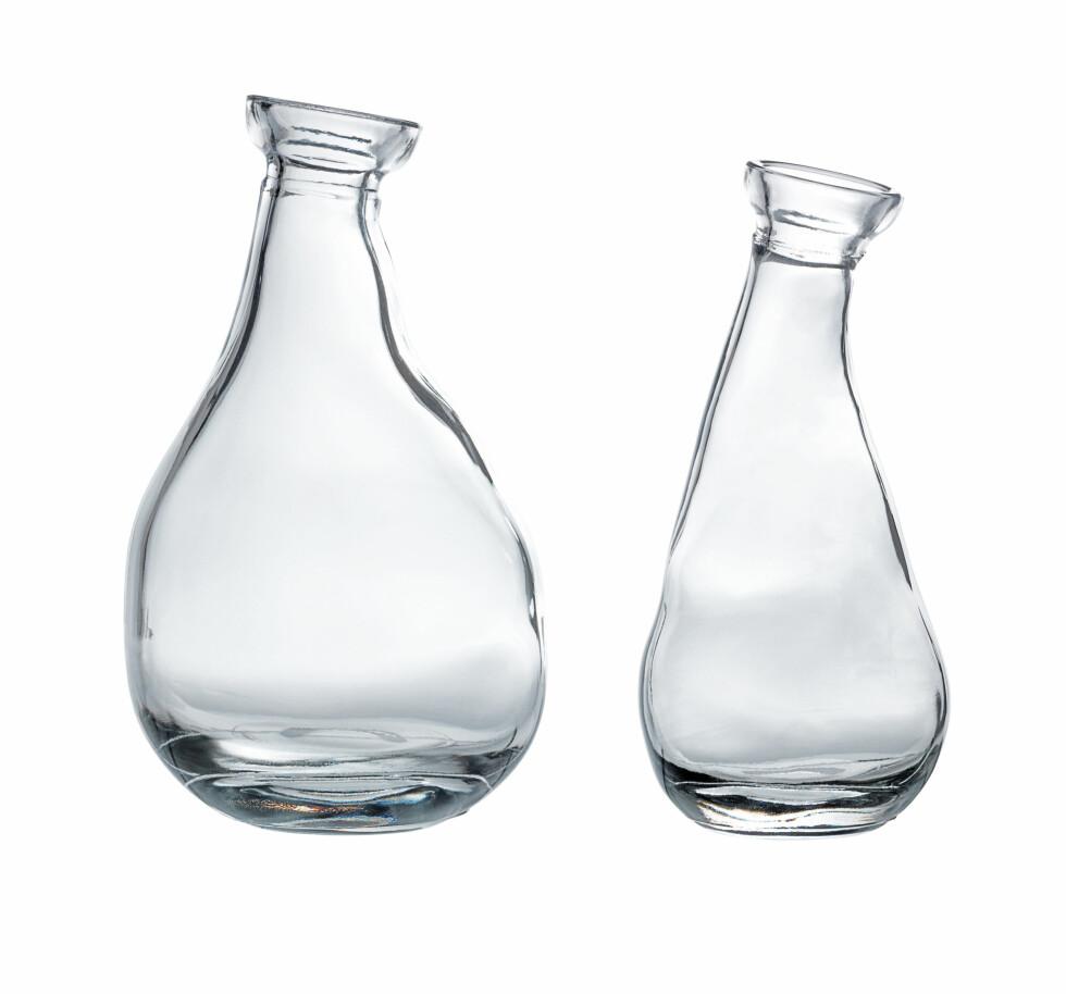 Vasene «Vårvind», sett med 2 stykker (kr 39, Ikea). Foto: Produsenten