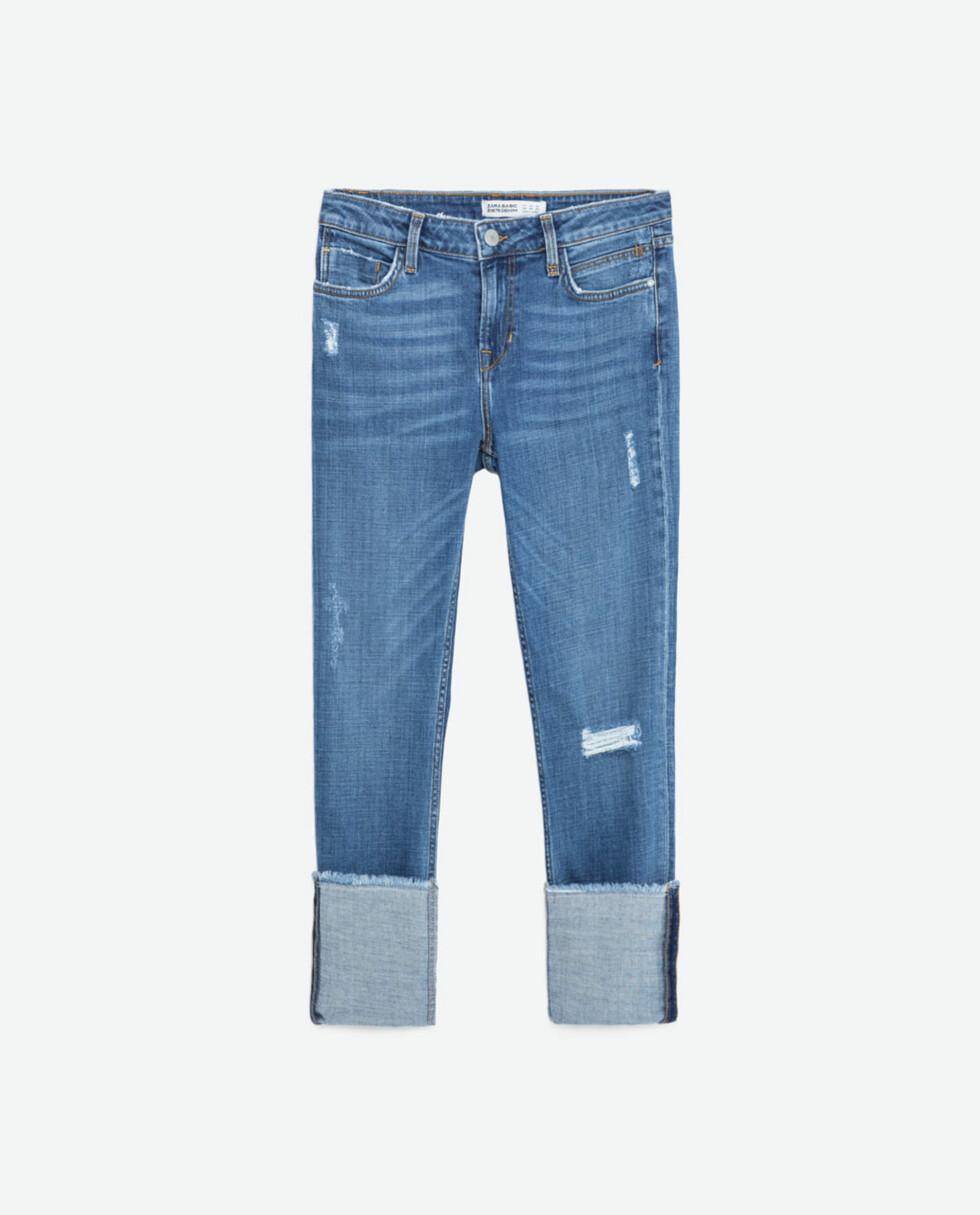 Jeans fra Zara, før kroner 349 - nå kroner 174,50. Foto: Produsenten