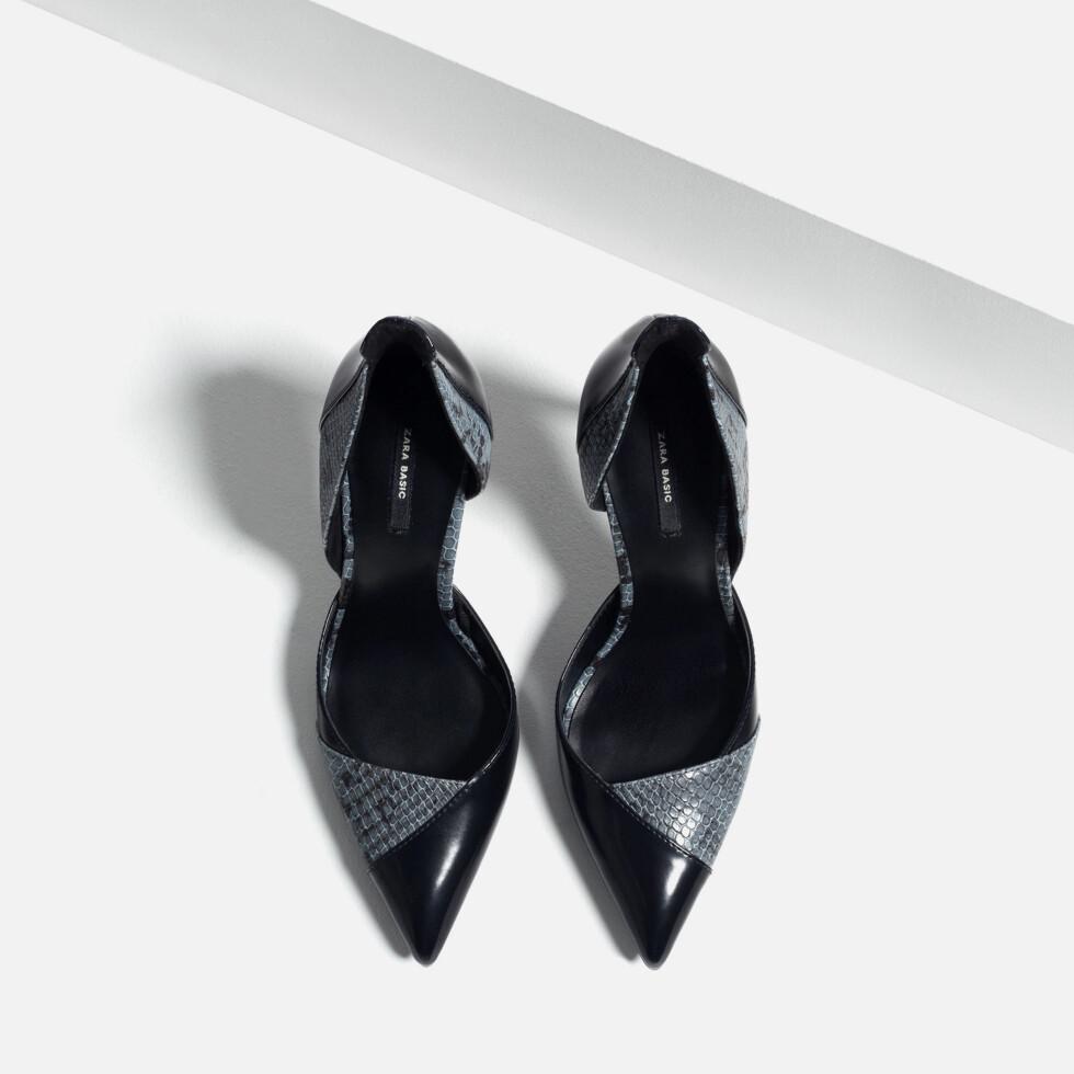Hæler fra Zara, før kroner 499 - nå kroner 249,50. Foto: Produsenten