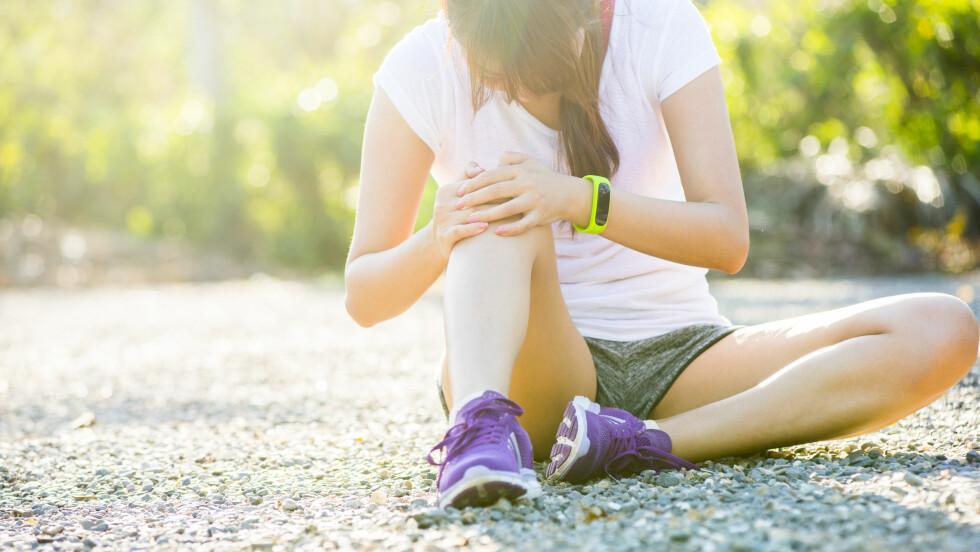 SKRUBBSÅR: Hvor på kroppen du får det, er med på å bestemme hvor fort det gror.  Foto: Shutterstock / Wayne0216
