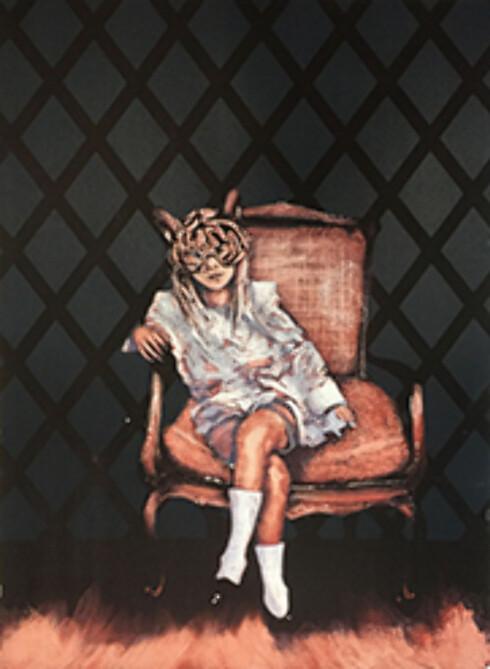 DYREMASKE: Litografien Masken. Foto: Alf Christian Hvaring