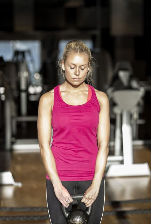 <strong>INGEN VEKTNEDGANG? IKKE DEPP:</strong> Treningsfremgangbør ikke måles i kilo gått ned, men heller i hvordan kroppen og formen din har forandret seg. Foto: Maskot