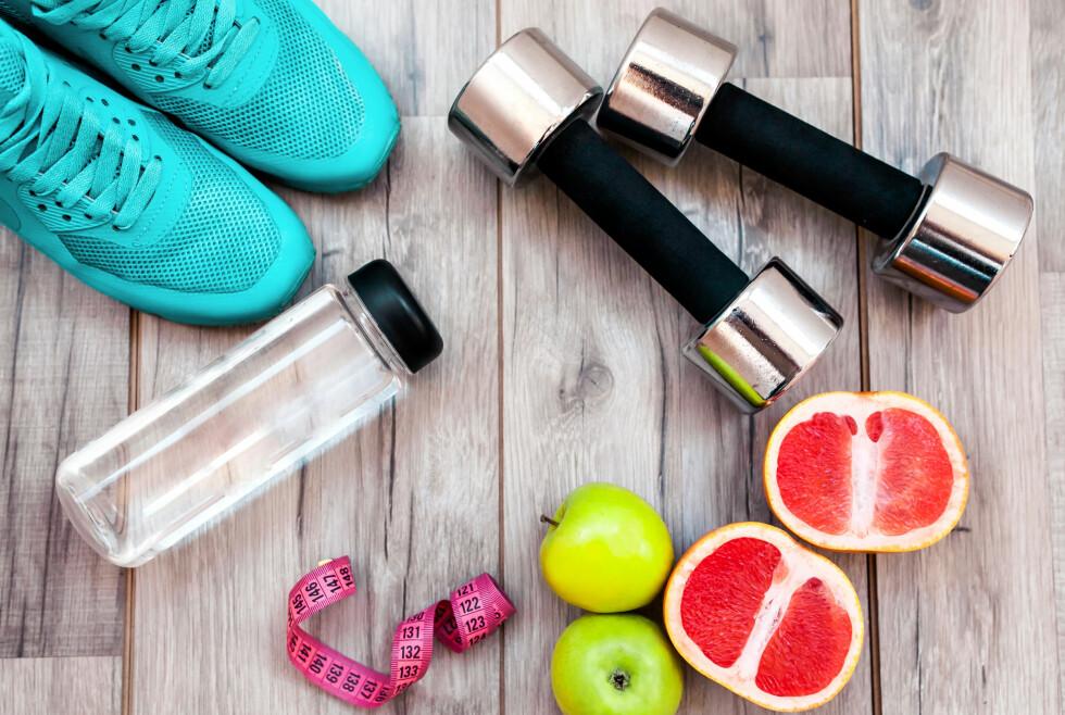 <strong>MAT LIKE VIKTIG:</strong> Det er ikke bare treningen som har noe å si for resultatene dine - det du spiser har minst like mye å si.  Foto: Shutterstock / Maria Ilal