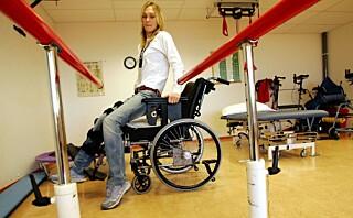Karina (39) knuste underkroppen i fallskjermulykke: - I stedet for å fokusere på smerten, tvang jeg meg til å tenke positivt