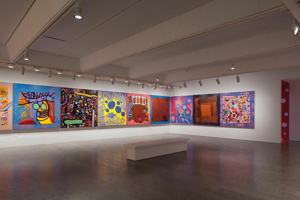 """VILLE MØNSTRE: Ustillingen """"I uendeligheten"""". Foto: Poul Buchard / Louisiana museum of Modern Art."""