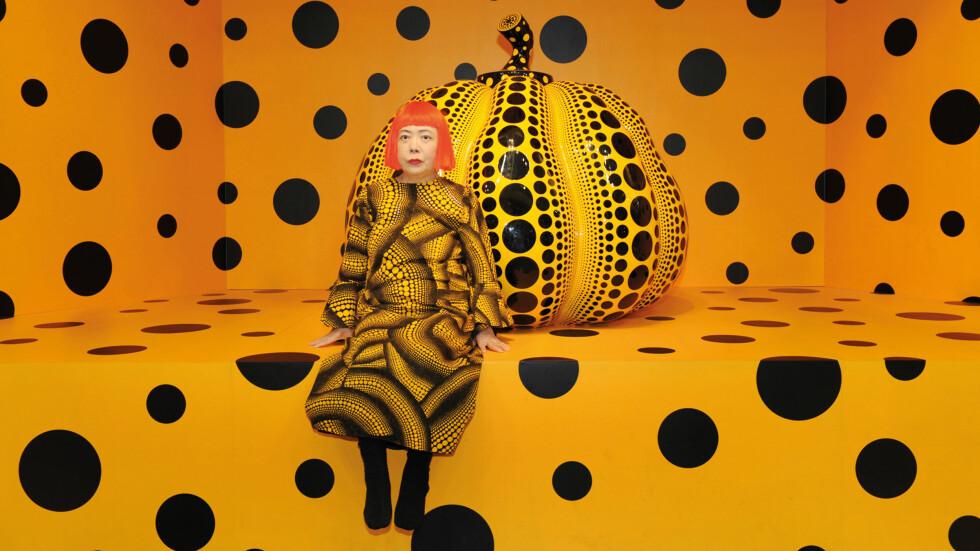 "SURREALISME: Yayoi Kusama har en fascinasjon for ville mønstre. ""Dots Obsession"", 2011. Foto: Ota Fine Arts, Tokyo/Singapore; Victoria Miro Gallery, London; David Zwirner, New York, © Yayoi Kusama"