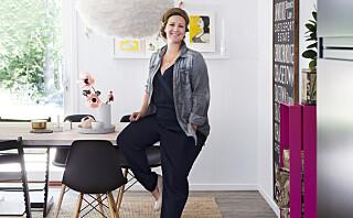 Programleder Siri Kristiansen designer sine egne møbler