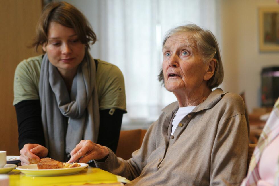 FLEST ELDRE: Forekomsten av demens øker med økende alder, og de fleste som rammes er i 70-årene eller eldre.  Foto: Agencja Fotograficzna Caro / Alamy/All Over Press