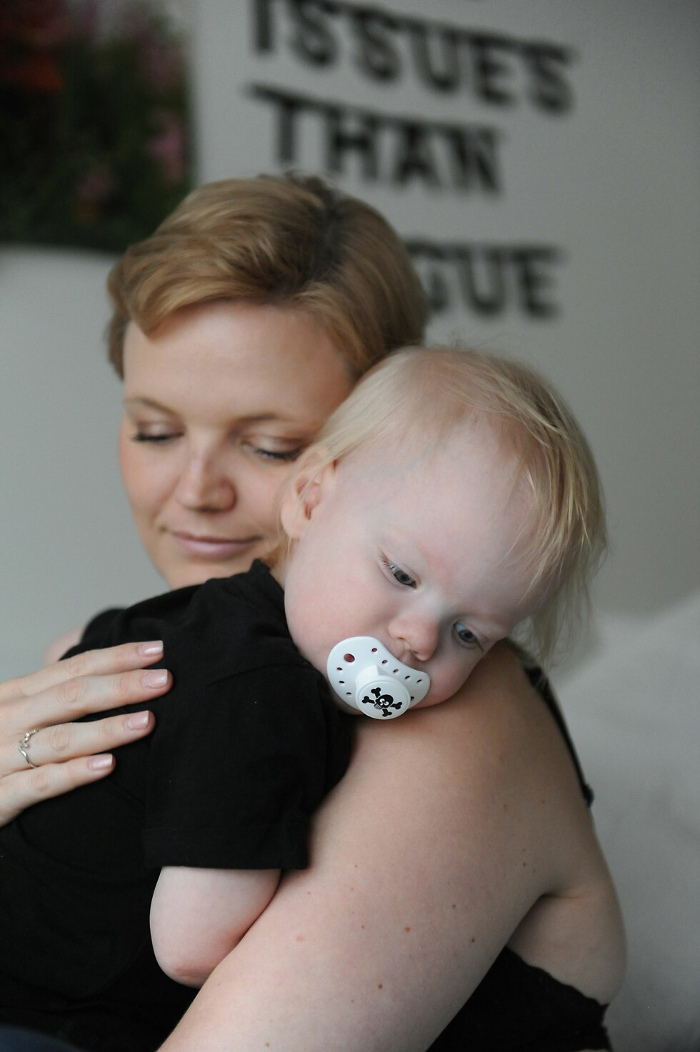 <strong>MAMMALYKKE:</strong> - For henne  kunne jeg gjort det  tusen ganger til, sier Jeanine. Foto: Marianne Otterdahl-Jensen