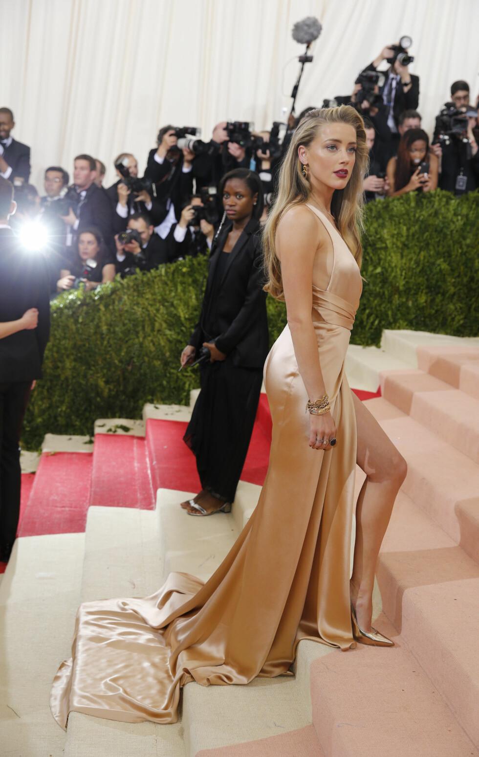 MET GALLA 2016: Amber Heard. Foto: Reuters
