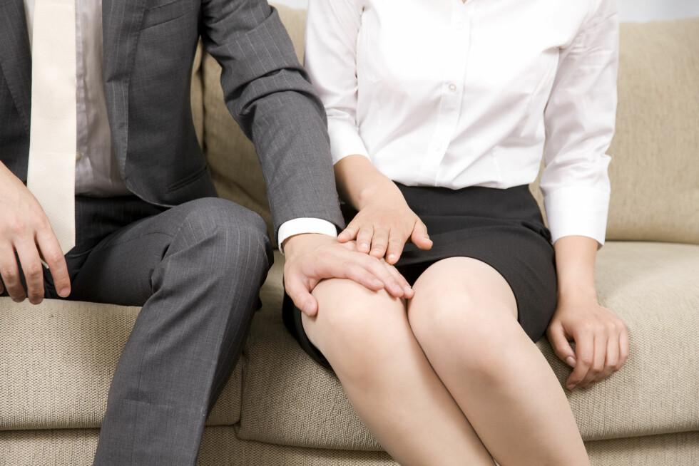 VANLIG: 13 prosent av kvinner mellom 16 og 24 år opplever uønsket seksuell oppmerksomhet på arbeidsplassen minst to ganger i måneden, Ifølge SSB. Foto: Shutterstock / KPG Payless2
