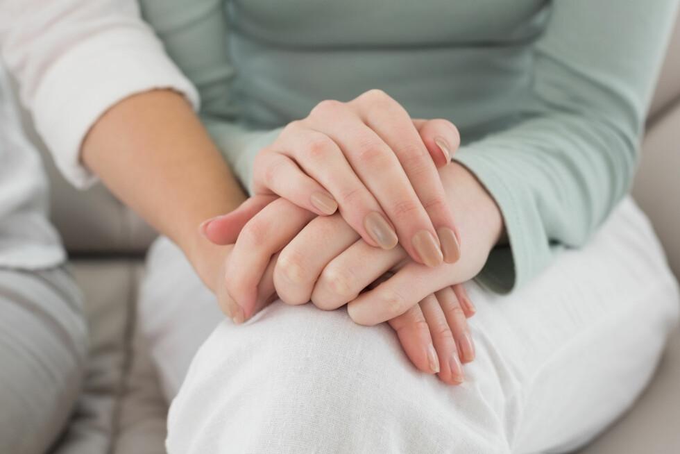 FORTELL: Snakk med legen din, kolleger på jobben og gode venner. I en slik prosess er det nemlig viktig å ha gode støttespillere. Foto: Shutterstock / lightwavemedia
