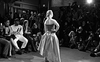 Madeline (18) har Downs syndrom - her er hun modell under New York Fashion Week