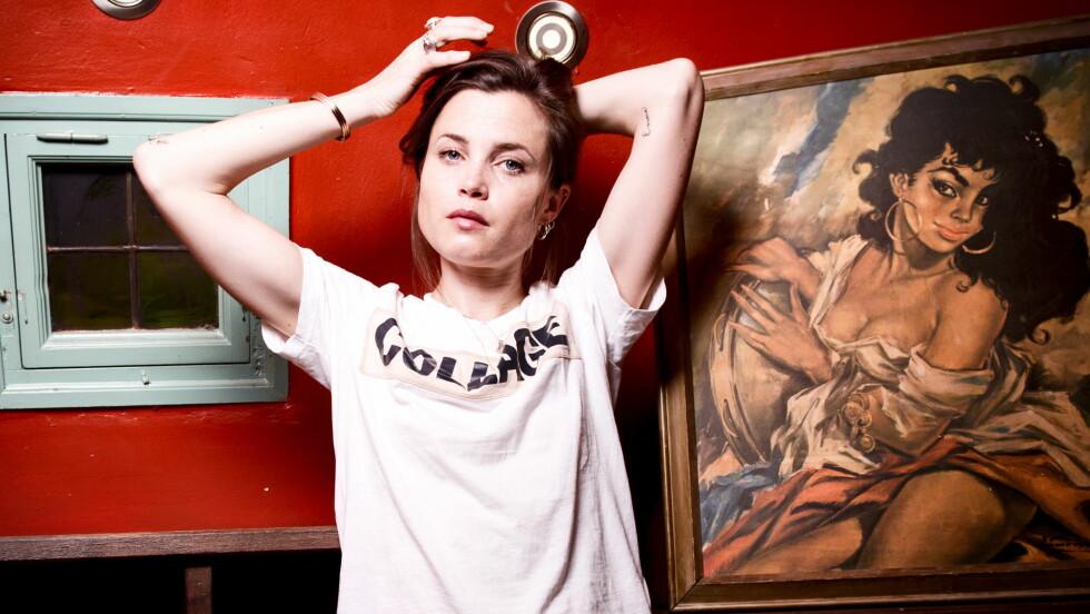 IT-JENTE: Gitte Witt gjør suksess som skuespiller og er en av Norges største moteyndlinger. Foto: Kristian Helgesen / VG