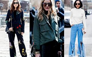 Vi lar oss inspirere av gatemoten i Paris - se sesongens trender her!