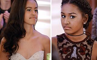 Se så store president Obamas døtre er blitt!