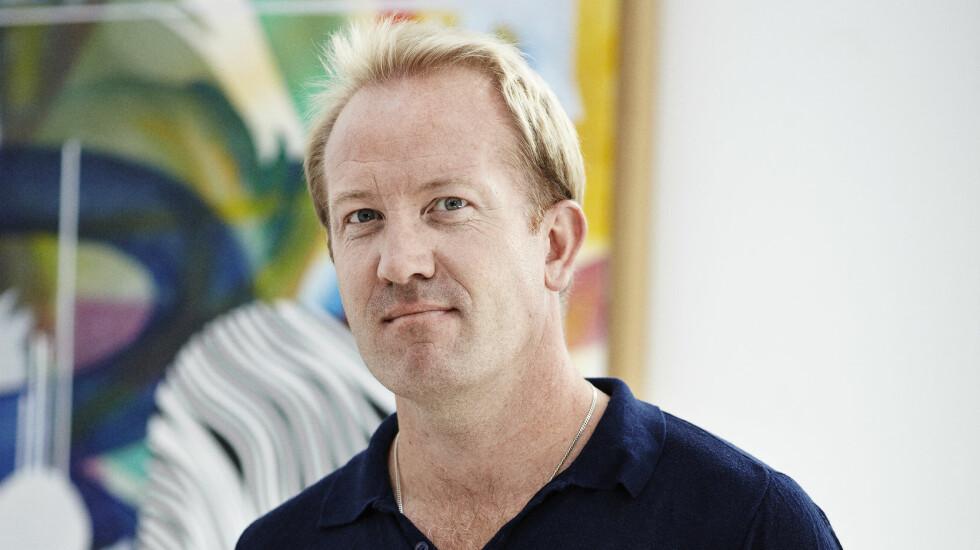 TØFF TID: En livskrise gjorde at Henrik Plachts malerier ble villere og mer intense.  Foto: Torjus Berglid
