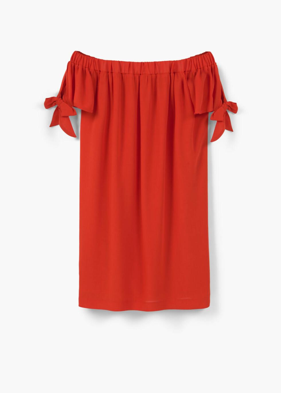 Kjole fra Mango, kr 399. Foto: Produsenten