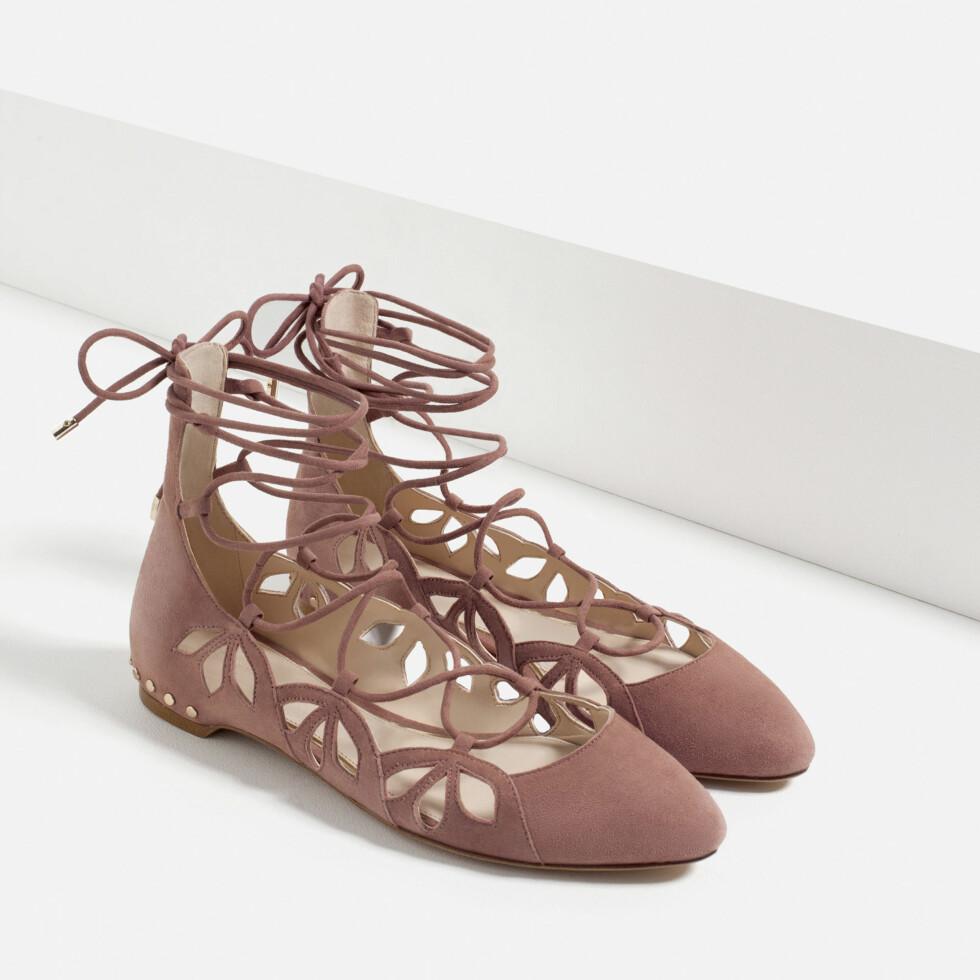 Ballerinasko fra Zara, kr 679. Foto: Produsenten