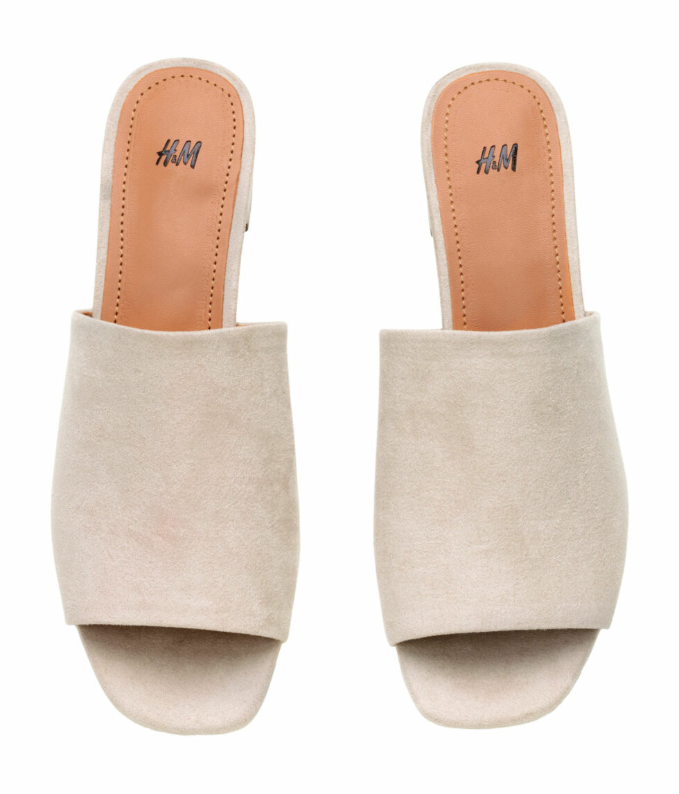 Sandaler fra H&M, kr 249. Foto: Produsenten