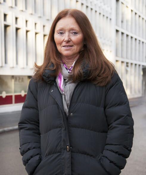 KREFTFORENINGEN: Else Støring Seksjonssjef i Kreftforeningens Kreftlinje. Foto: Foto: Øyvind Bjørkum